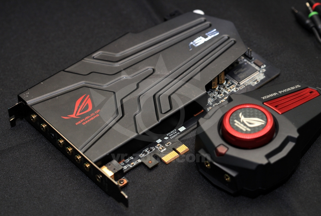 Asus Rog Phoebus Sound Card Pictured Amp Detailed