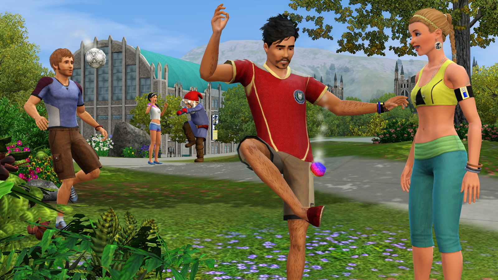 Ea announces the sims 3 university life expansion pack