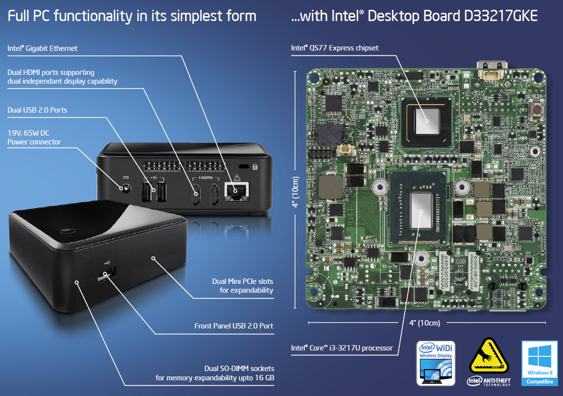 intel prepares nuc systems with core i5 ivy bridge and haswell processors. Black Bedroom Furniture Sets. Home Design Ideas