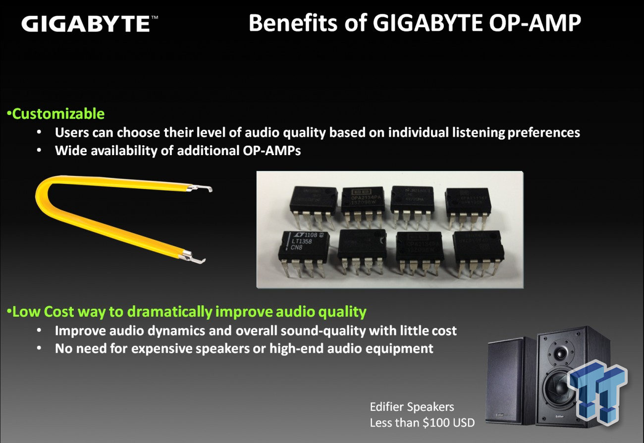 Gigabyte Introducing Upgradable Op Amp In Haswell Motherboards Wiring 3 Soundcore3d Audio Z87 4