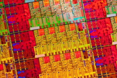 Intel Haswell Wafer