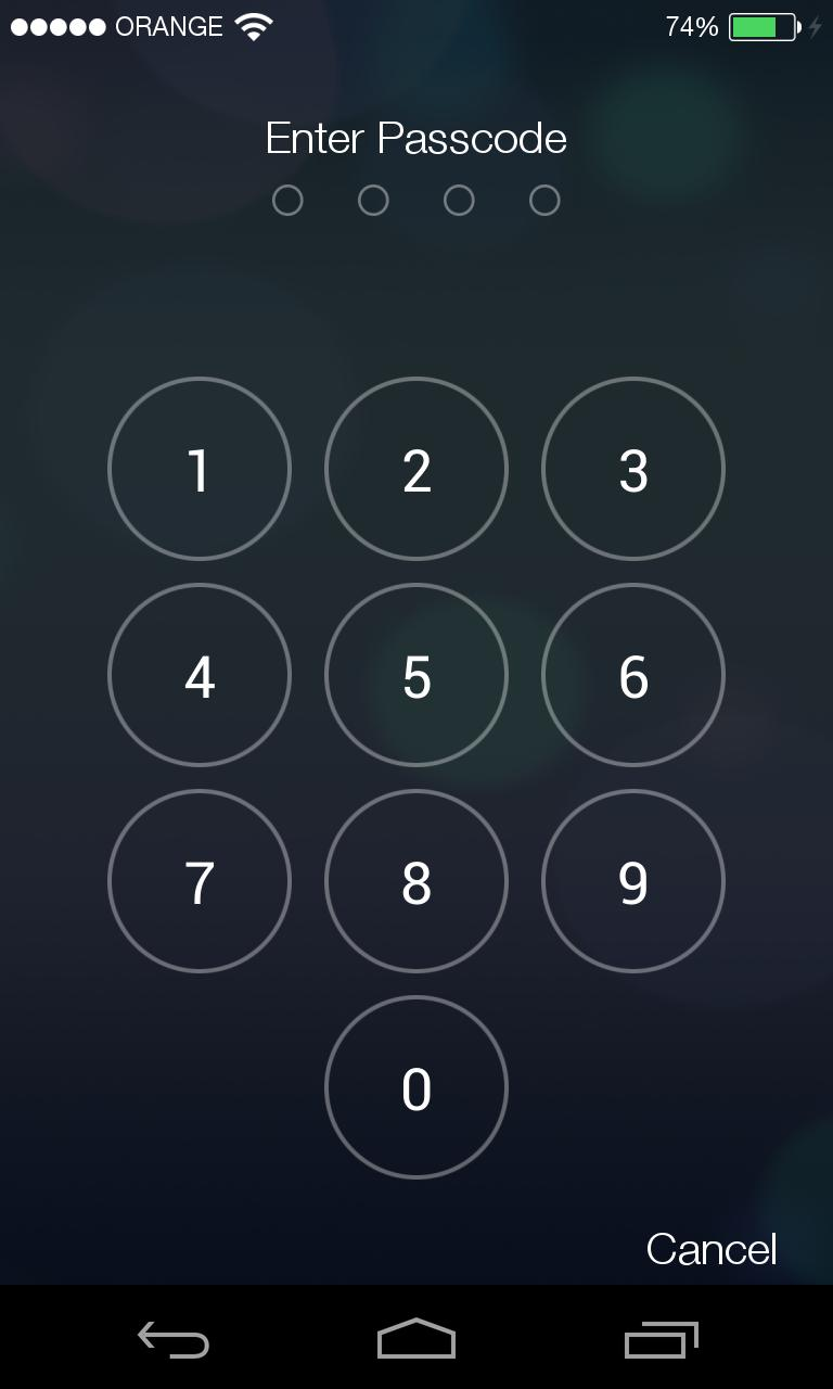 get into a locked iphone ios 7 bug lets anyone make calls from locked phone 16990