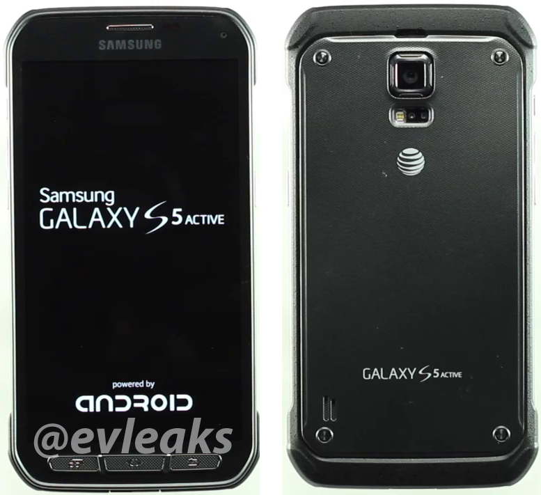 Samsung Galaxy S5 Active gallery of pictures leaked