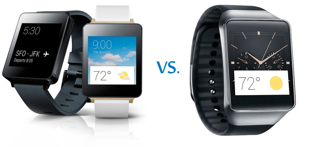 G Watch vs Gear Live