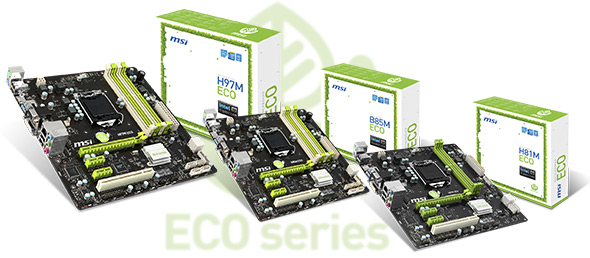 MSI ECO Motherboards _1