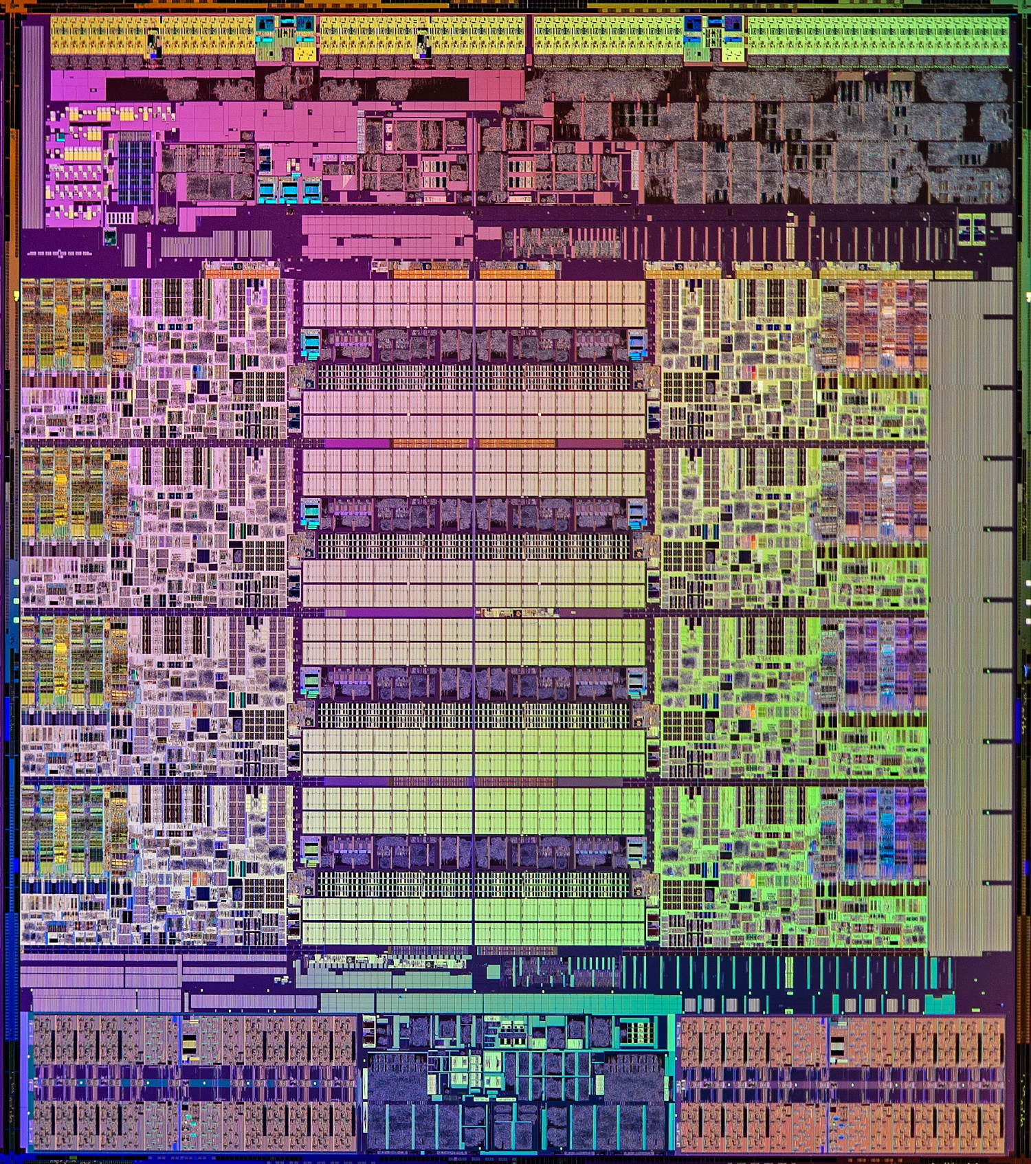 Intel Haswell-E Die