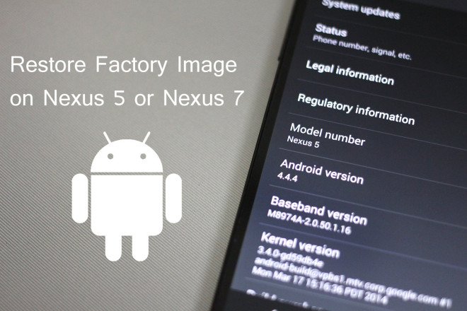 Android Factory Image