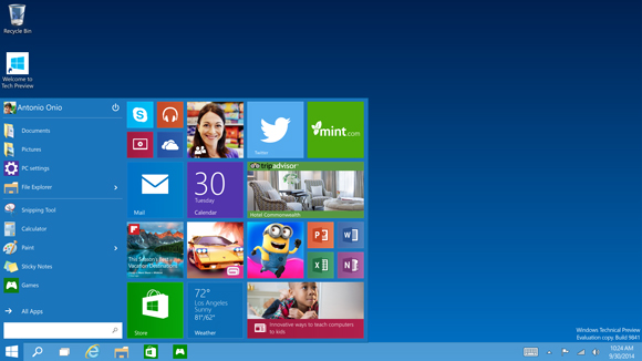 Windows 10 Technical Preview _3