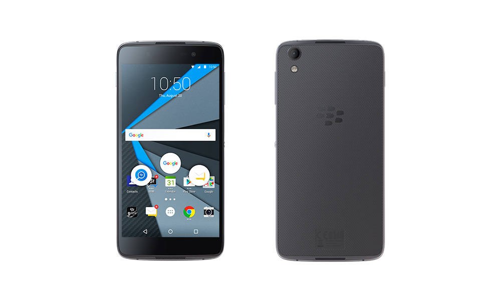 DTEK50: BlackBerry Announces Second Android Smartphone
