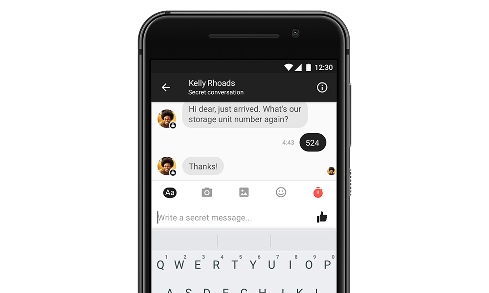 Facebook Messenger Secret Conversation