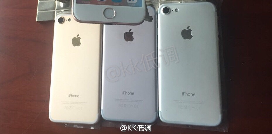 iPhone 7 Colors